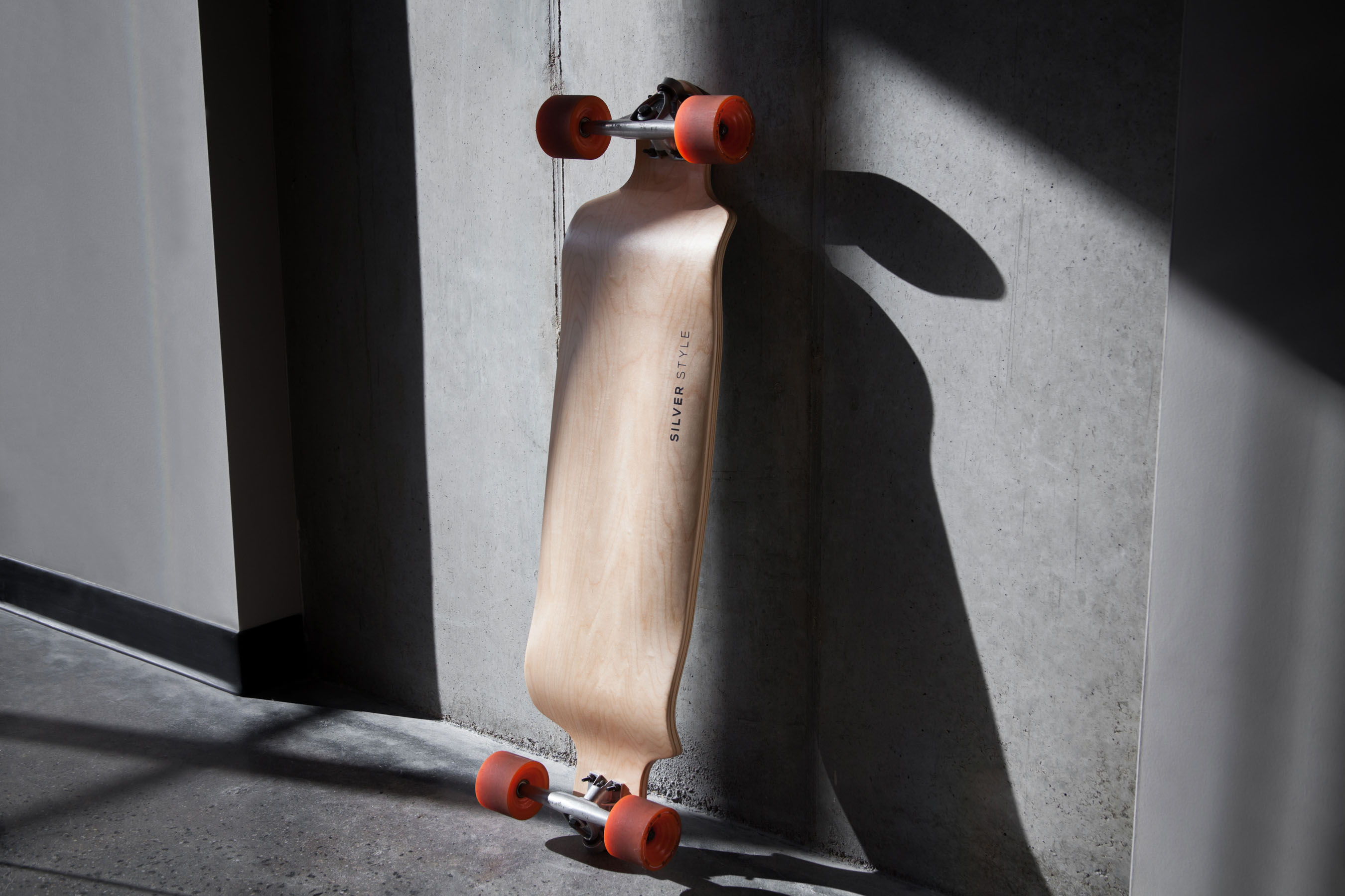 Longboard in the Sunlight at Silver Style HQ