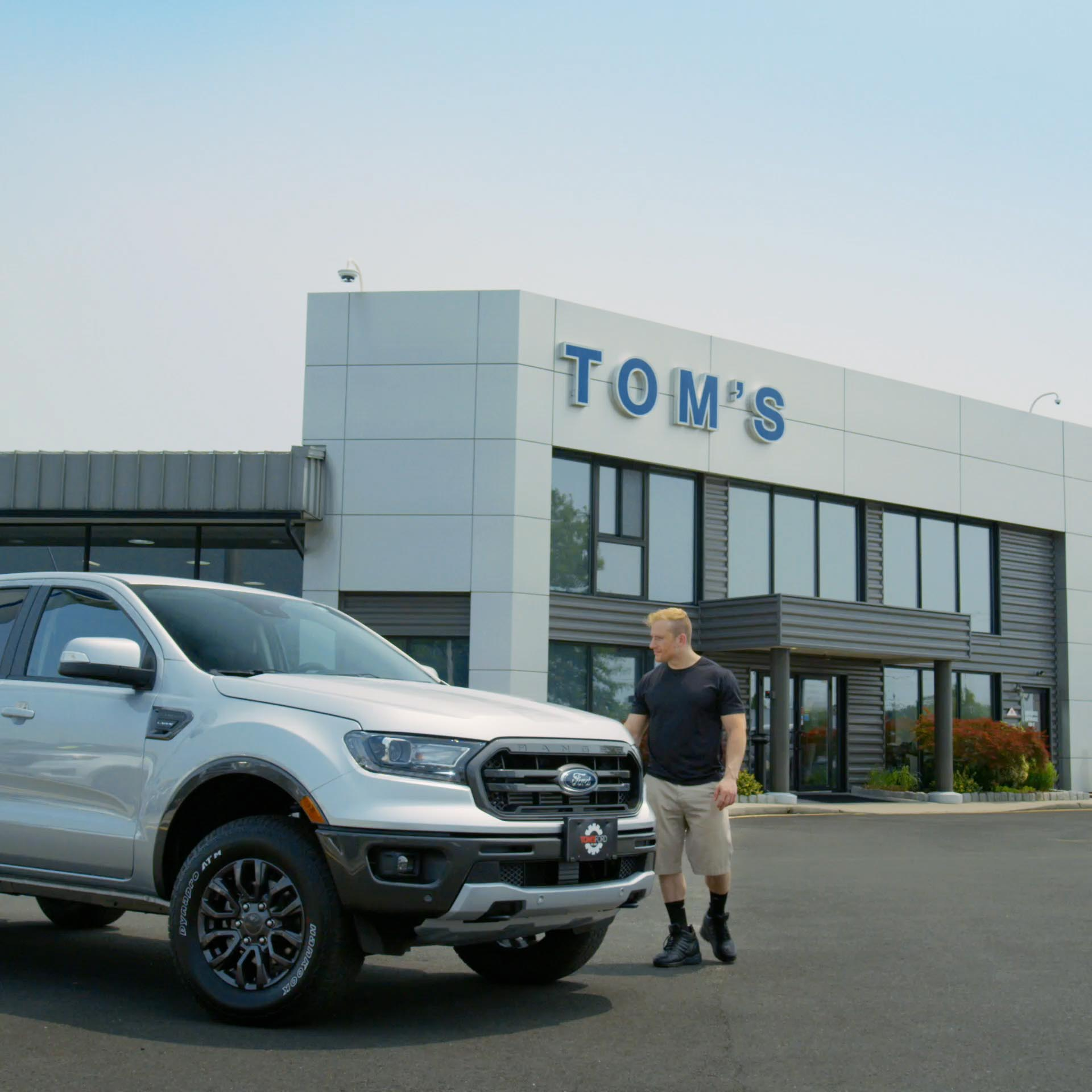 Tom's Ford Auto Dealer